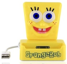 Spongebob Squarepants dock for iPhone and iPod touch