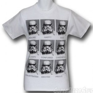 Star Wars Stormtroopers Today I Am T-Shirt