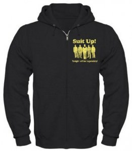 How I Met Your Mother Suit Up! Zip Hoodie