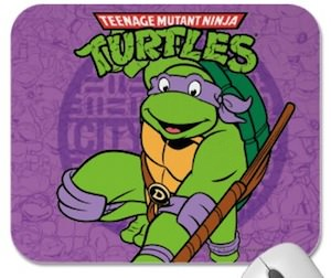 Teenage Mutant Ninja Turtles Donatella Mousepad