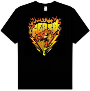 DC Comics Flash - Blazing Speed T-Shirt