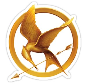 The Hunger Games Mockingjay sticker