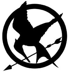 The Hunger Games Mockingjay Wall Decal