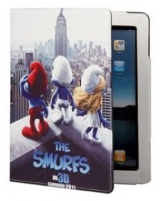 The Smurfs Faux Leather iPad 2 Case