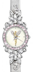 Disney Tinker Bell Reflections Of Time Crystal Watch