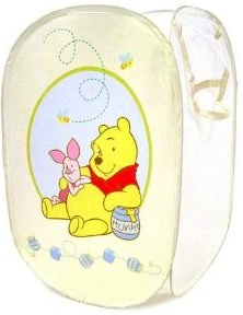 Winnie the Pooh pop-up laundry hamper