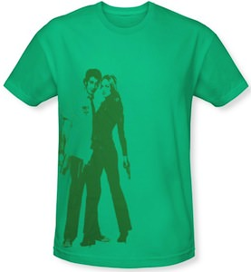 Chuck and Sarah walker t-shirt