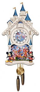 Disney Character Cuckoo Clock: Happiest Of Times