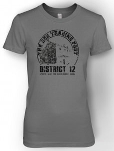 Hunger Games Distristc 12 The Hob Trading Post T-Shirt