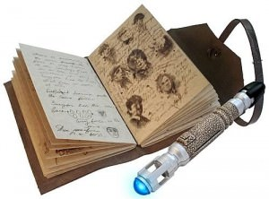 Doctor Who Journal of Impossible Things &amp; Sonic Screwdriver