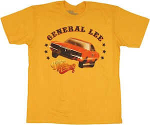 The Dukes of Hazzard T-shirt with General lee