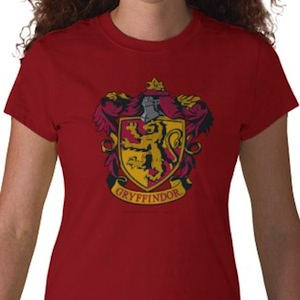 Harry Gryffindor logo t-shirt