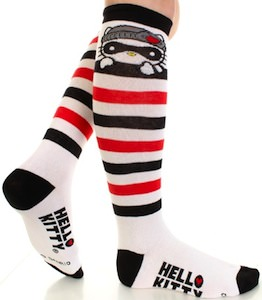 Hello Kitty knee hight Bandit socks