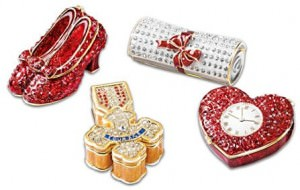 Wizard Of Oz Limoges-Style Jeweled Box Collection: Jeweled Treasures Of Oz