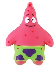 Spongebobs friend Patrick Star as Flash Drive