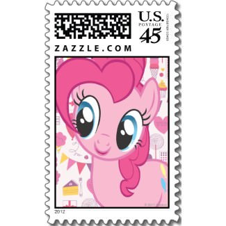 My Little Pony Postage Stamp of Pinkie Pie