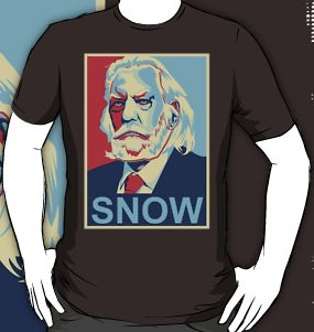 The Hunger Games t-shirt of President Snow