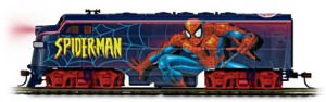 The Amazing Spider-Man Express Locomotive Train Car