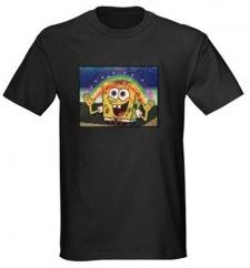Spongebob Squarepants t-shirt with light and sound