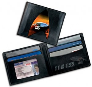 STAR TREK U.S.S. Enterprise Men's Leather Wallet