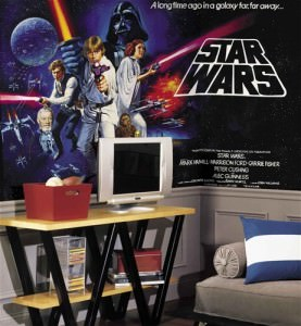 Star Wars(TM) XL Wallpaper Mural 6' x 10.5'
