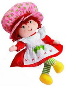 Strawberry Shortcake Plush Doll