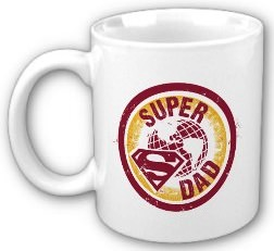 Super Dad mug from Superman