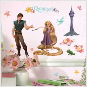 Tangled Wall Decals