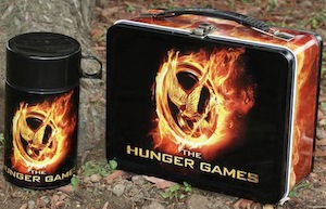 The Hunger Games mockingjay lunch box