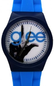 Glee Watch in Blue with the Glee logo