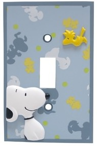Snoopy Lightswitch switchplate