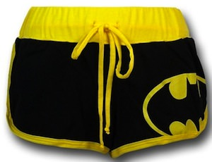 Batman Short shorts for women