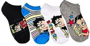 Betty Boop Socks