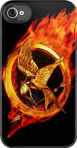 The Hunger Games Burning Mockingjay iPhone Case