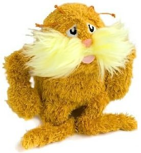 Dr Seuss Lorax 7 Inch Plush