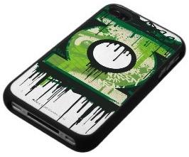 Green Lantern logo in Graffiti style on an iPhone 4s case