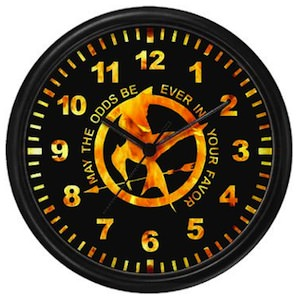 The Hunger Games Mockingjay Wall Clock
