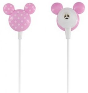 Mickey/Mini Mouse Head Shaped Earphones