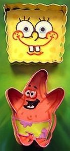 Spongebob Squarepants cookie cutter set