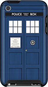 Doctor Who tardis case for iPod touch