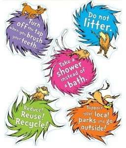 Dr. Seuss The Lorax Guide To Green Decal Kit