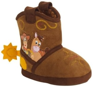 Toy Story Plush shoes / cowboy boots