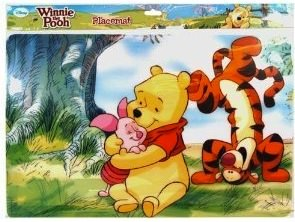 Winnie The Pooh and friend placemat