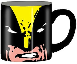 Wolverine face mug