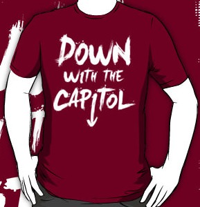 The Hunger Games Down With The Capitol T-Shirt