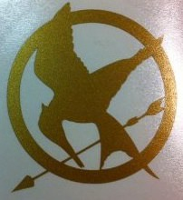The Hunger games Mockingjay decal set