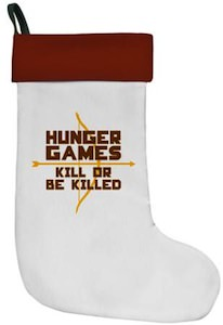 The Hunger Games Christmas Stocking
