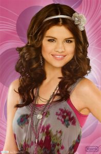 Alex Russo Wizard poster of Selena Gomez