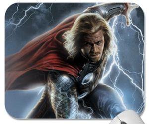 Marvel the Avengers mousepad of Thor