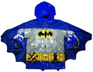 Batman Raincoat with cape